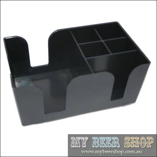 CAFE BAR RESTAURANT NAPKIN STRAW ORGANIZER HOLDER