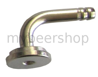4 - 5mm ANGLED BARB TO SUIT TAPS/KEG COUPLERS