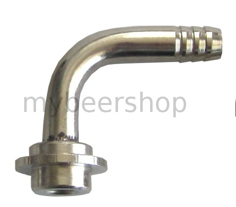 7 - 8mm ANGLED BARB TO SUIT TAPS/KEG COUPLERS