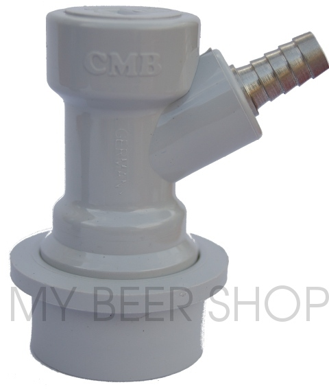 GAS 6mm BALL LOCK KEG DISCONNECT