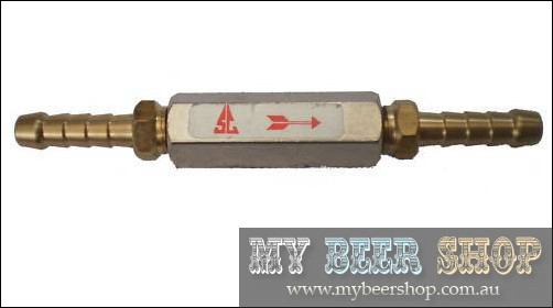 ONE WAY CHECK VALVE NON RETURN ANTI BACKFLOW BEER