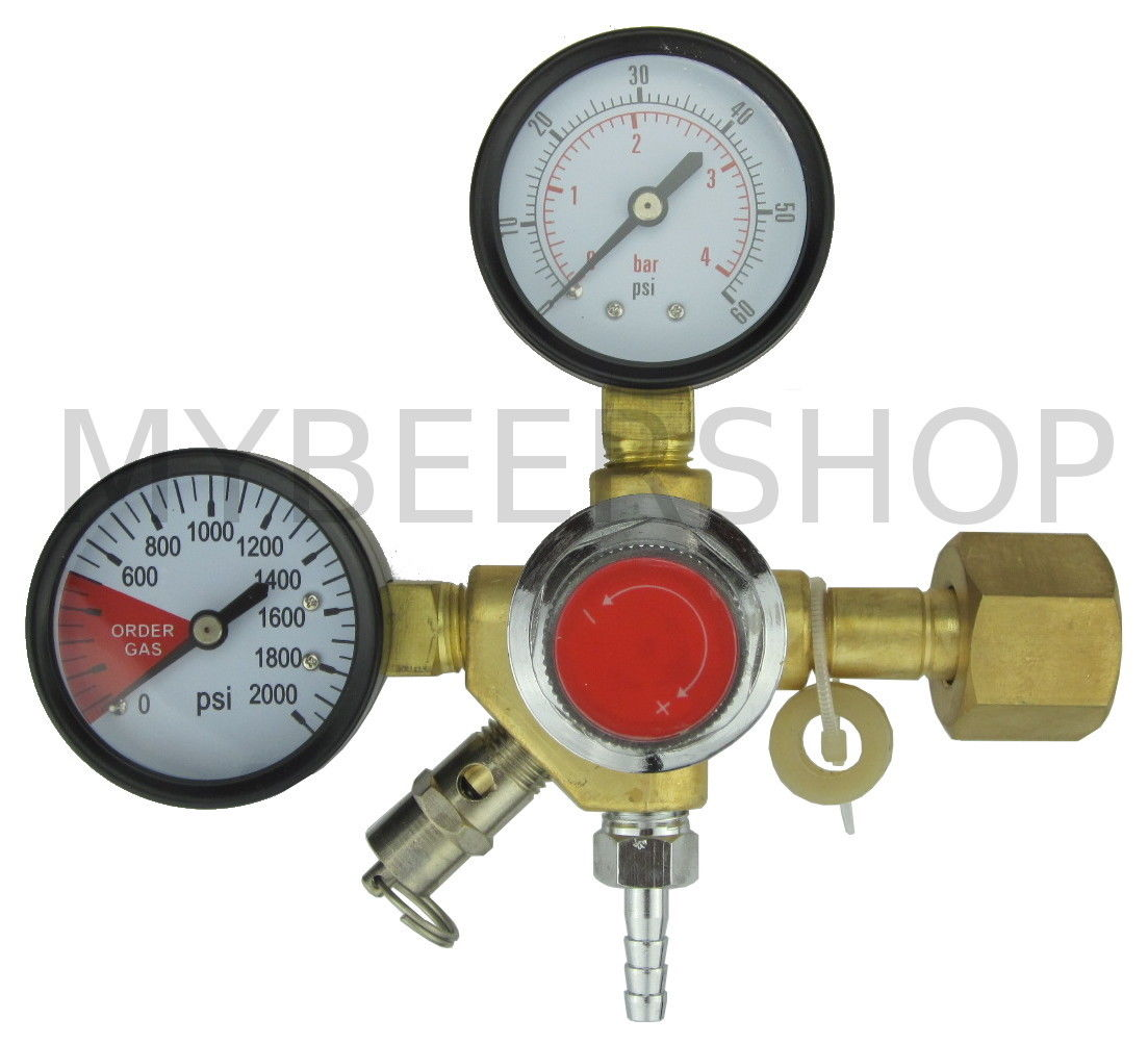 CO2 ENTRY LEVEL CARBON DIOXIDE GAS REGULATOR BREW BEER