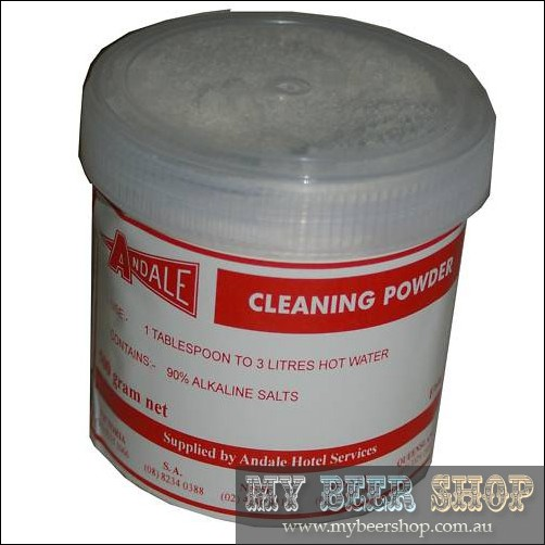 ANDALE CLEANING POWDER FOR STAINLESS STEEL KEGS ETC