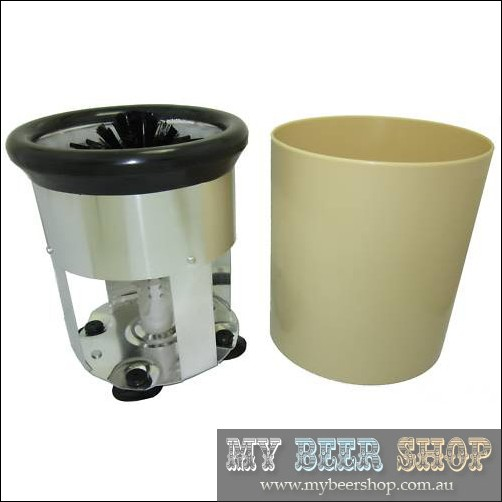 RONDELL GLASS WASHER WITH BUCKET FOR HOME BREW BEER