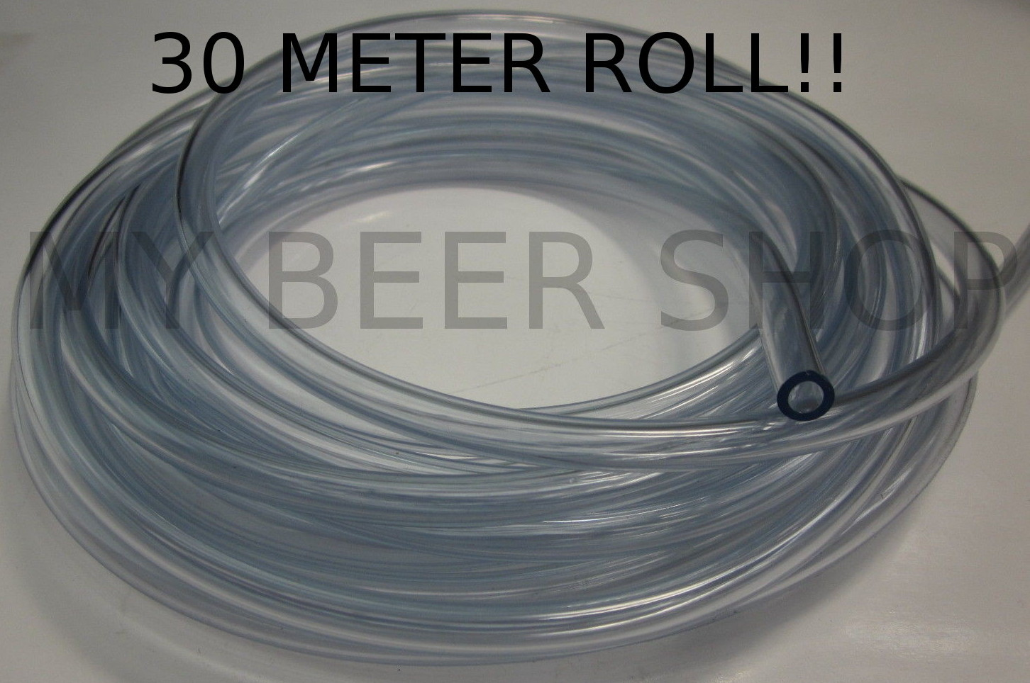 30M!! 6mm ID 9mm OD FOOD GRADE CLEAR FLEX VINYL TUBE HOSE HOSING